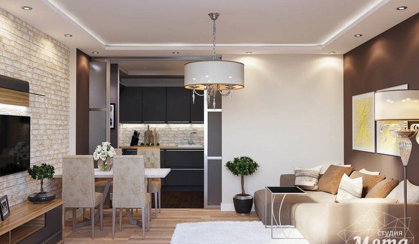 Дизайн интерьера трехкомнатной квартиры по ул. Фурманова 103 4