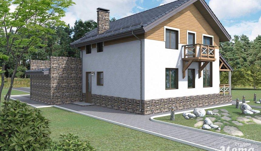 Дизайн фасада коттеджа 205м2 в г. Нижневартовск 2