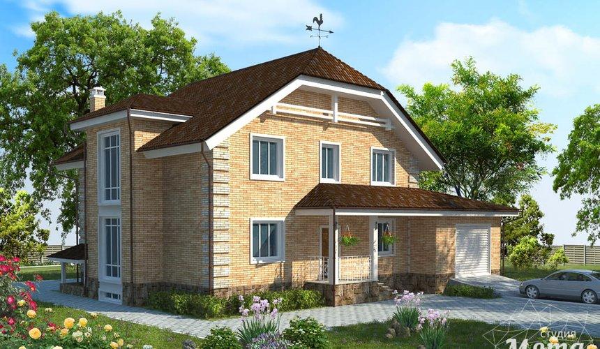 Дизайн-проект фасада коттеджа 400 м2 в КП Расторгуев 2