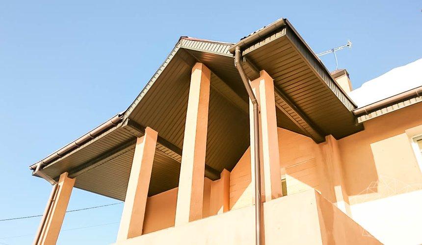 Дизайн проект фасада дома 215 м2 в п. Санаторный 18