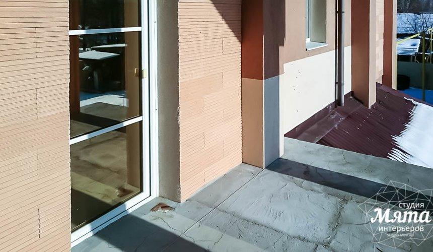 Дизайн проект фасада дома 215 м2 в п. Санаторный 22