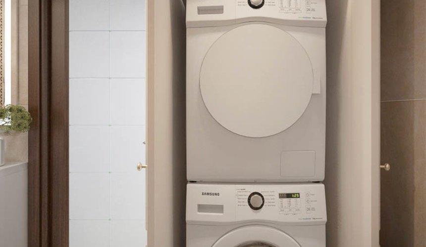 Дизайн интерьера двухкомнатной квартиры в ЖК Чемпион Парк 21