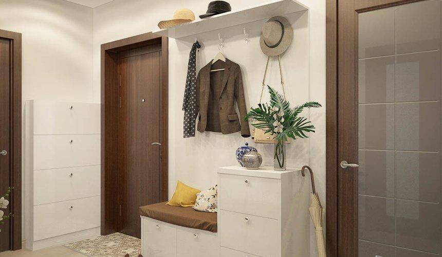 Дизайн интерьера двухкомнатной квартиры в ЖК Чемпион Парк 11
