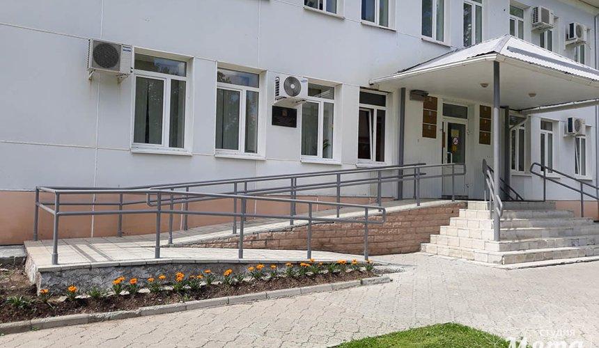 Дизайн-проект входной группы Муниципального учреждения п. Свободный 3