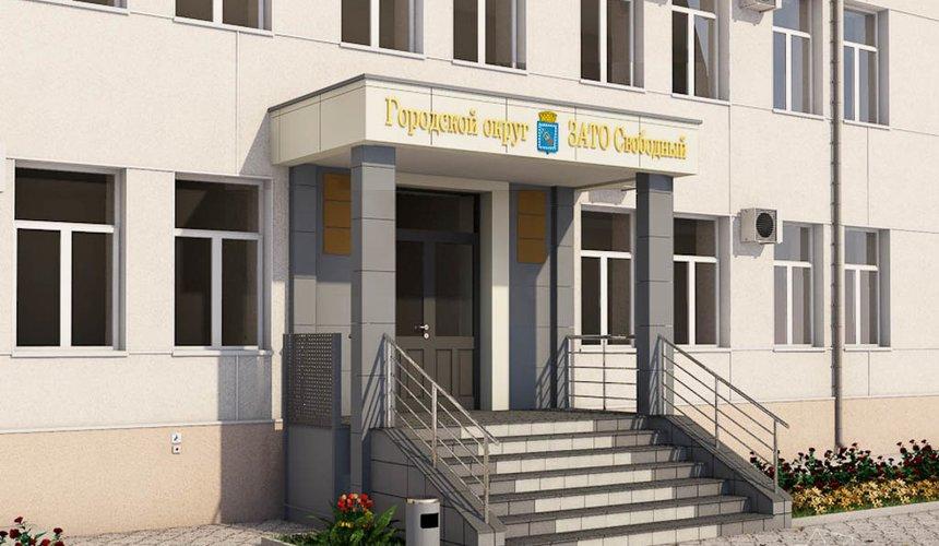 Дизайн-проект входной группы Муниципального учреждения п. Свободный 5