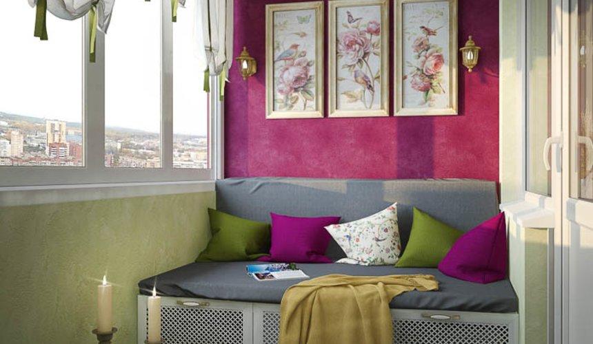 Дизайн интерьера четырехкомнатной квартиры по ул. Блюхера 41 14