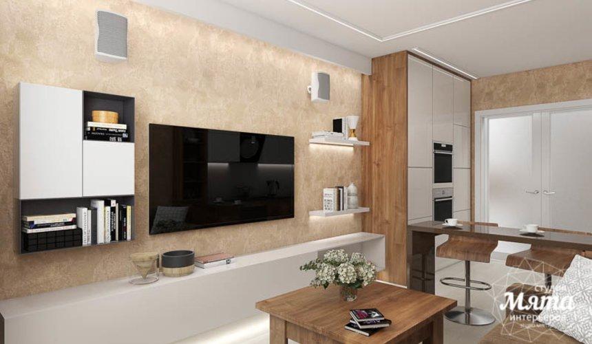 Дизайн интерьера двухкомнатной квартиры в ЖК Первый Николаевский 2