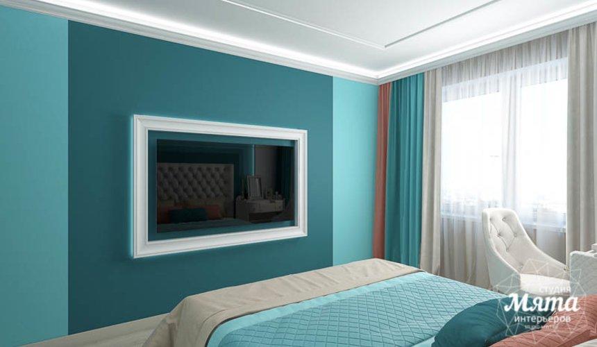 Дизайн интерьера двухкомнатной квартиры в ЖК Первый Николаевский 18