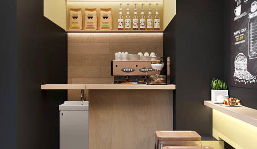 Дизайн интерьера мини-кофейни по ул. Большакова 107 2