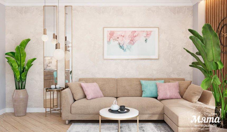 Дизайн интерьера четырехкомнатной квартиры по ул. Блюхера 45 3