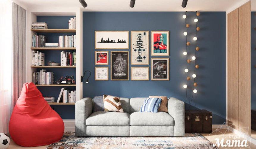 Дизайн интерьера четырехкомнатной квартиры по ул. Блюхера 45 20
