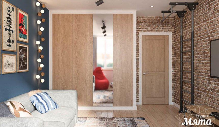 Дизайн интерьера четырехкомнатной квартиры по ул. Блюхера 45 21