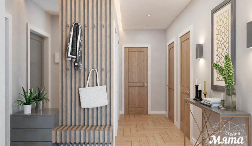 Дизайн интерьера четырехкомнатной квартиры по ул. Блюхера 45 22