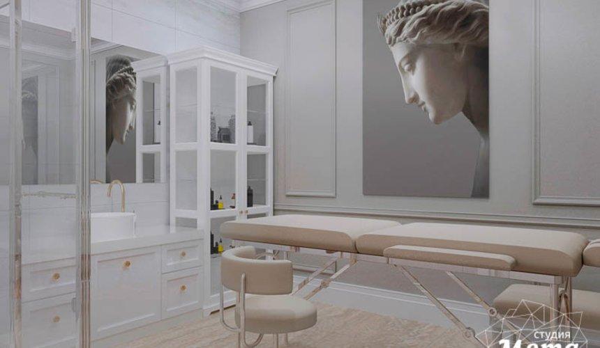 Дизайн интерьера и ремонт салона красоты в ЖК Флагман 32