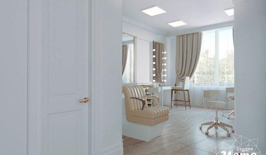 Дизайн интерьера и ремонт салона красоты в ЖК Флагман 34