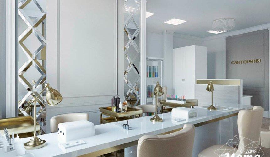 Дизайн интерьера и ремонт салона красоты в ЖК Флагман 35