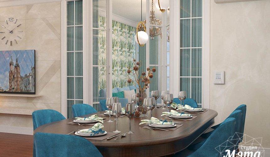 Дизайн интерьера квартиры в стиле современной классики в ЖК Вивальди 3