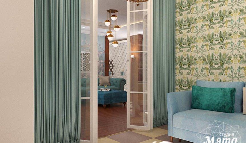 Дизайн интерьера квартиры в стиле современной классики в ЖК Вивальди 18