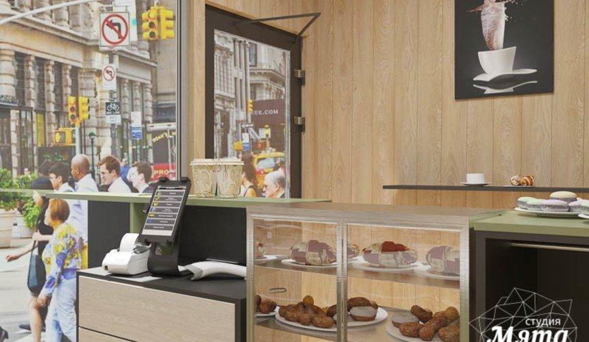 Дизайн интерьера маленькой кофейни по ул. Боровая 19 5