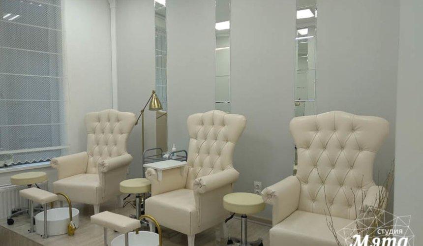 Дизайн интерьера и ремонт салона красоты в ЖК Флагман 13