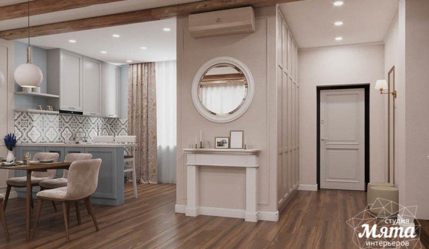 Дизайн интерьера первого этажа таунхауса в п. Палникс 7