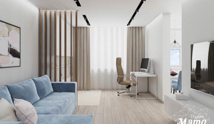 Дизайн интерьера трехкомнатной квартиры в ЖК Дом у пруда ... 5