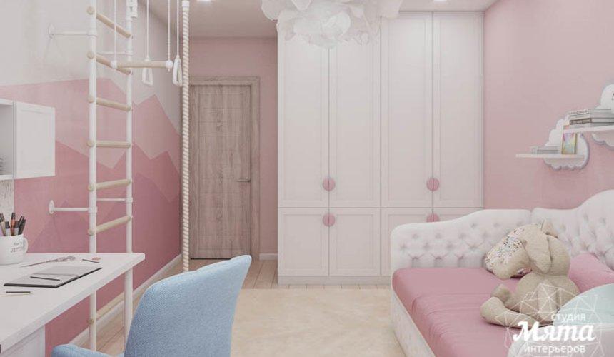 Дизайн интерьера трехкомнатной квартиры в ЖК Дом у пруда ... 23