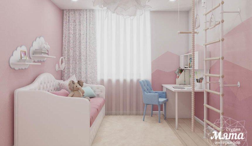 Дизайн интерьера трехкомнатной квартиры в ЖК Дом у пруда ... 24