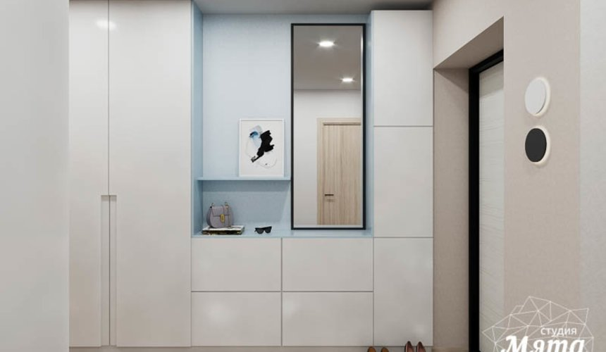 Дизайн интерьера трехкомнатной квартиры в ЖК Дом у пруда ... 10