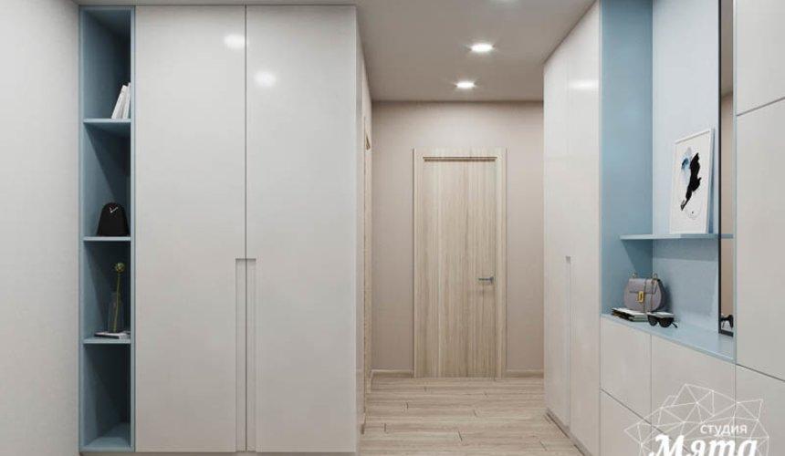 Дизайн интерьера трехкомнатной квартиры в ЖК Дом у пруда ... 11