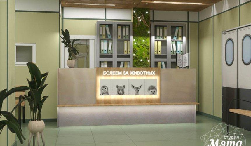 Дизайн интерьера ветеринарной станции г. Екатеринбурга 3