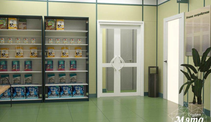 Дизайн интерьера ветеринарной станции г. Екатеринбурга 7