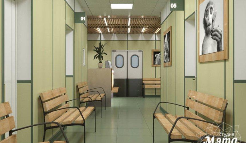 Дизайн интерьера ветеринарной станции г. Екатеринбурга 4