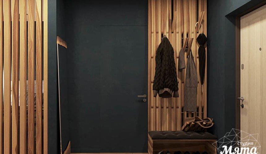 Дизайн интерьера квартиры - студии в ЖК Солнечный 13