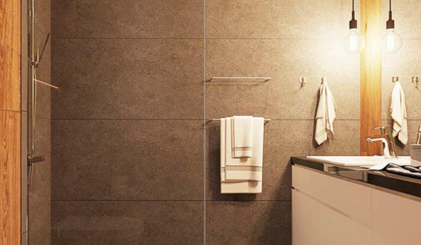 Дизайн интерьера квартиры - студии в ЖК Солнечный 16