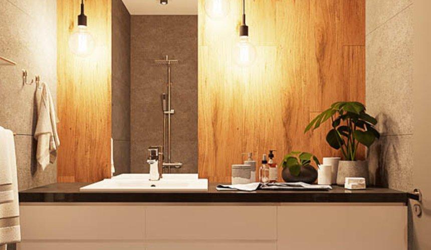 Дизайн интерьера квартиры - студии в ЖК Солнечный 17