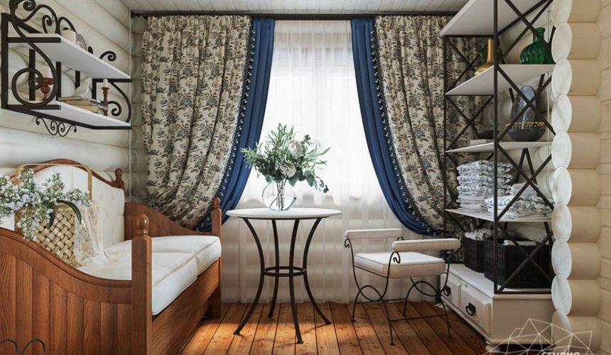 Дизайн интерьера комнаты отдыха в бане с. Косулино 3