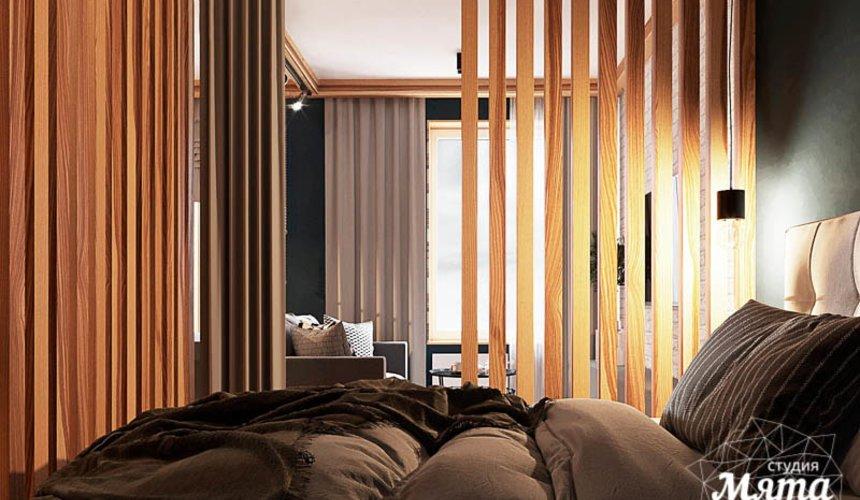 Дизайн интерьера квартиры - студии в ЖК Солнечный 10