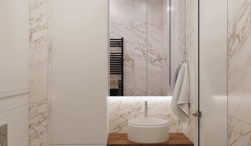 Дизайн интерьера трехкомнатной квартиры в ЖК Чемпион Парк 19