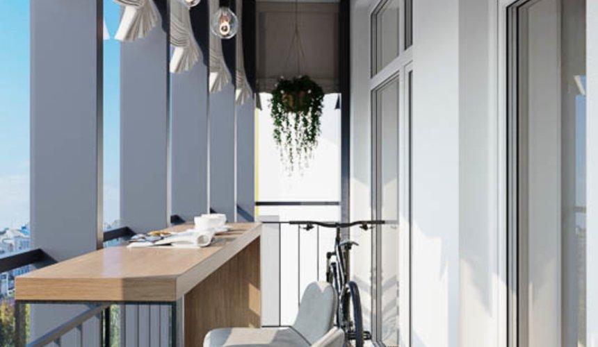 Дизайн интерьера трехкомнатной квартиры в ЖК Чемпион Парк 17