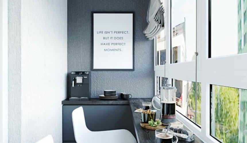Дизайн интерьера однокомнатной квартиры в ЖК Оазис 28