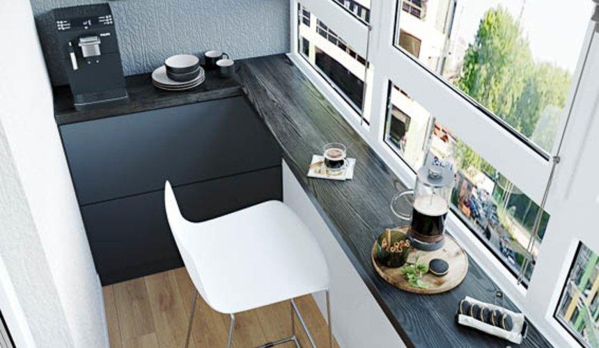 Дизайн интерьера однокомнатной квартиры в ЖК Оазис 29