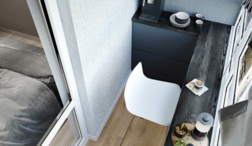 Дизайн интерьера однокомнатной квартиры в ЖК Оазис 30