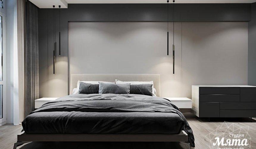 Дизайн интерьера однокомнатной квартиры в ЖК Оазис 18