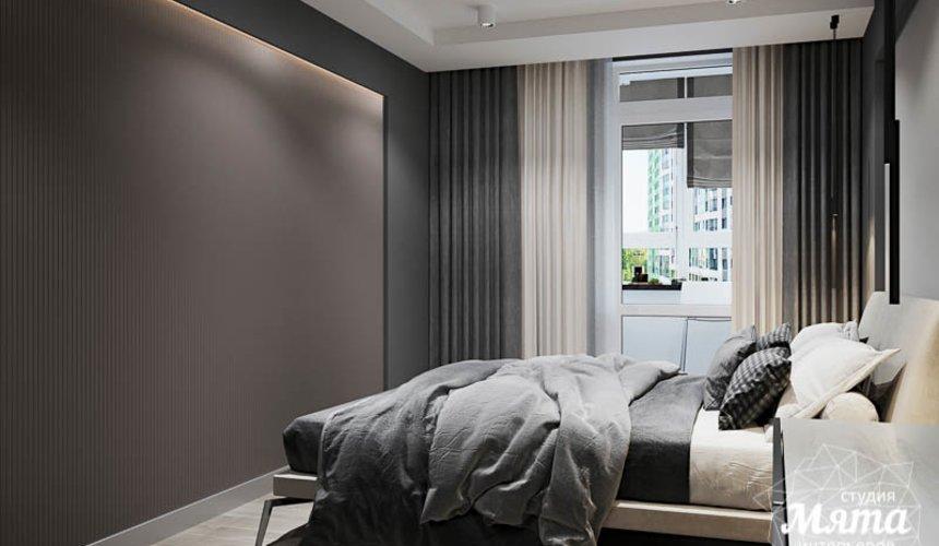 Дизайн интерьера однокомнатной квартиры в ЖК Оазис 21