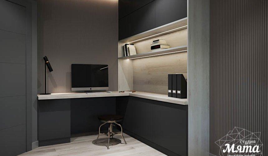 Дизайн интерьера однокомнатной квартиры в ЖК Оазис 23
