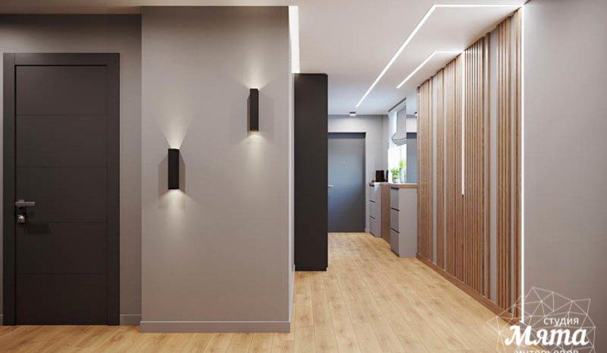 Дизайн интерьера однокомнатной квартиры в ЖК Оазис 10