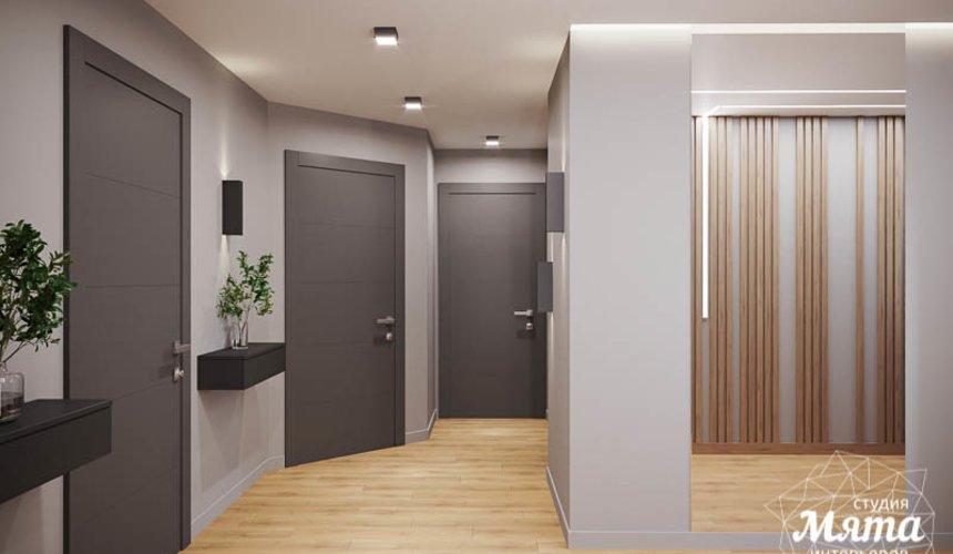 Дизайн интерьера однокомнатной квартиры в ЖК Оазис 11