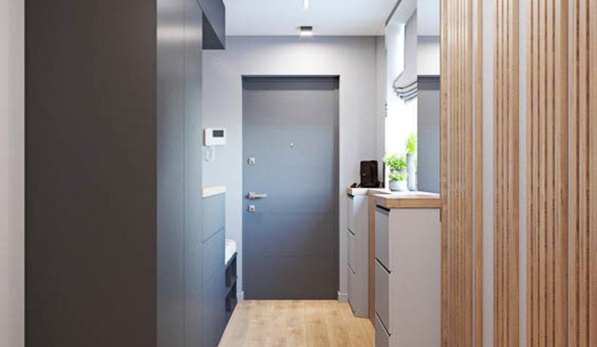 Дизайн интерьера однокомнатной квартиры в ЖК Оазис 14