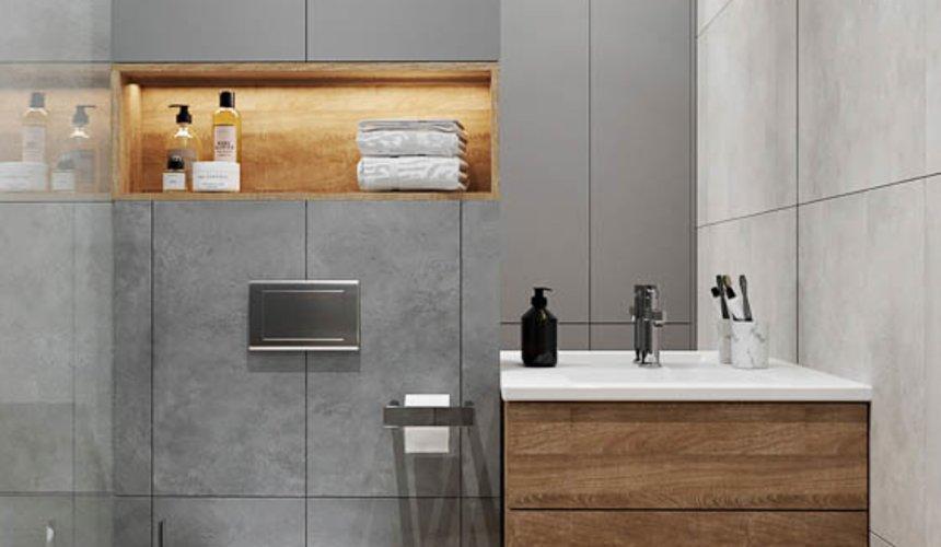 Дизайн интерьера однокомнатной квартиры в ЖК Оазис 35